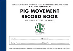 Pig Movement Book